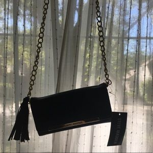 Steve Madden Bags - Small Purse with Gold Chain and Tassel